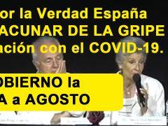 Médicos por la Verdad España pide NO VACUNAR contra la gripe por su relación con el COVID-19, pero el Gobierno la adelanta a agosto