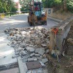 El Ayuntamiento de Talamanca comienza la primera fase de las obras de pavimentación