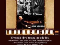 Uceda ofrece música en directo con «El Pianista de Cine»
