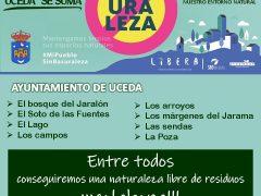 El Ayuntamiento de Uceda se une al proyecto: «Mi pueblo sin basura», de LIBERA