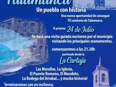 El Ayuntamiento de Talamanca de Jarama organiza una visita nocturna guiada por los monumentos del municipio