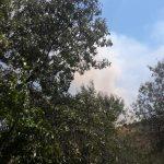 Extenso incendio en Valdepiélagos seis dotaciones de tierra y tres de aire están trabajando en el incendio de Valdepiélagos