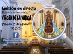 Uceda tendrá su emisión en directo de la Eucaristía en honor a la Virgen de la Varga