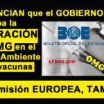 Un abogado denuncia al Gobierno de España por aprobar la liberación de OMG en vacunas sin cumplir los requisitos de seguridad