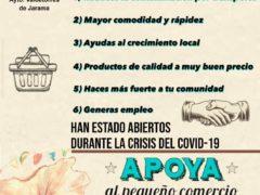 El Ayuntamiento de Valdetorres de Jarama lanza una campaña de apoyo al pequeño comercio