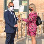 La alcaldesa de El Casar recibe al presidente de las Cortes de Castilla-La Mancha en el Ayuntamiento de la localidad