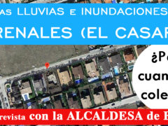 La urbanizacion Los Arenales de El Casar tendrá un colector en breve para evitar las inundaciones de las lluvias