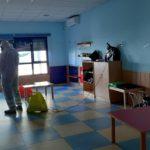 El Ayuntamiento de Talamanca de Jarama desinfecta el CEIP Sansueña y la Casa de Niños