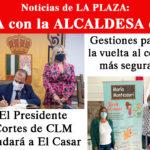 Entrevista con la alcaldesa de El Casar sobre la vuelta al cole, el colector de Los Arenales, los casos de coronavirus y más