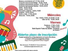 La Escuela Municipal de Música y Danza de Talamanca de Jarama ya está en marcha