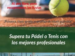 Comienza la temporada de fútbol y la escuela de pádel y tenis en Uceda y Caraquiz