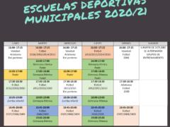 El Ayuntamiento de El Casar ya ha puesto en marcha las escuelas deportivas para la temporada 2020/2021