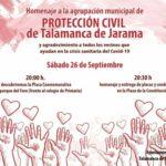El Ayuntamiento de Talamanca de Jarama hará un homenaje a los miembros de Protección Civil con entrega de placas y condecoraciones