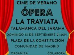 La Traviata llega a Talamanca de Jarama en pantalla de cine