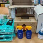 El Ayuntamiento de Valdetorres de Jarama dona material sanitario al CEIPS Jesús Aramburu