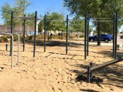 Finalizan las obras del nuevo 'street workout' de El Casar