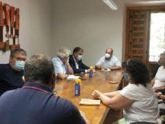 El Director General de Cohesión Territorial de la JCCM se reúne en el Ayuntamiento de Uceda para hablar de la fibra óptica