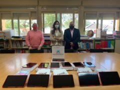 El Ayuntamiento de Valdetorres de Jarama dona 12 tablets para los alumnos del CEIPS Jesús Aramburu