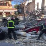 La Agencia de Seguridad y Emergencias Madrid 112 avisa de fuertes vientos en la Comunidad de Madrid de hasta 110 kilómetros por hora