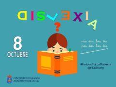 El Ayuntamiento de Uceda se une al Día de la Dislexia