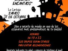Pasaje del Terror en Talamanca de Jarama para celebrar Halloween en el Caserón Encantado