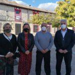 El presidente de la Diputación se reúne con el alcalde de Uceda