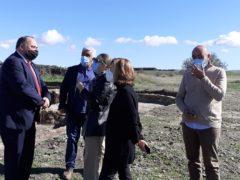 La consejera de Cultura y Turismo visita la Villa Romana de Valdetorres de Jarama y estudiará ayudas para promocionar el turismo en el municipio