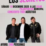 Espectacular CARTELERA MUSICAL navideña en VALDETORRES de JARAMA con «LOS SECRETOS» y «The 4 Stations: IL DIVO Tribute»