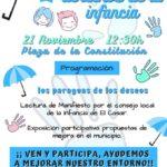 El Casar celebra el Día de los Derechos de la Infancia con la exposición participativa «Los paraguas de los deseos»