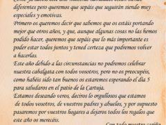 Los Reyes Magos envían una carta al Ayuntamiento de Talamanca de Jarama para que avise a los niños de que llegarán el día 5