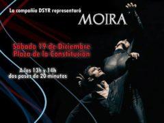 Talamanca de Jarama celebra «MOIRA», un espectáculo de danza de la mitología griega