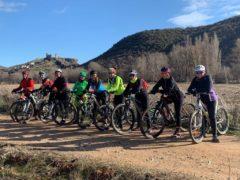 Nacen las Jarameñas: mujeres de nuestros pueblos del Jarama de Madrid y Guadalajara que se unen para montar en bici los fines de semana