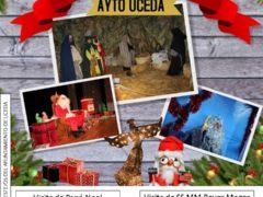 Papá Noel y Sus Majestades los Reyes Magos de Oriente visitarán Uceda