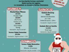 Navidades deportivas y solidarias en Talamanca de Jarama 2020 con inscripciones de kilos de comida