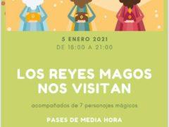 Los niños de Valdetorres de Jarama podrán ver a los SS.MM. los Reyes Magos en el Polideportivo Municipal