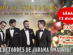 The 4Stations llega a VALDETORRES DE JARAMA con su espectáculo: «El Espíritu de la Navidad»