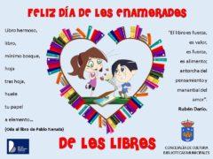 La Biblioteca de Uceda celebra el «Día de los Enamorados de los Libros» con un evento en Facebook
