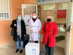 El Ayuntamiento de El Casar realiza una segunda entrega de geles hidroalcohólicos a los centros de enseñanza del municipio