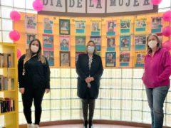 El Centro Joven de El Casar celebra el Día Internacional de la Mujer con un gran mural