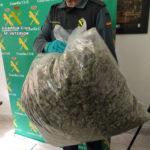 La Guardia Civil detiene a una persona e investiga a otras dos por tráfico de drogas en Uceda y en Almonacid de Zorita