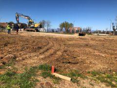 Comienzan las obras de la pista de Pump Track en El Casar