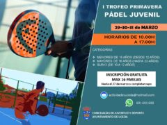 Uceda celebra su «I Trofeo Primavera Pádel Juvenil»