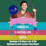 Valdetorres de Jarama celebra un festival musical con un tributo a 'Hombres G', 'El Canto del Loco' y 'Pereza'