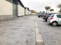 Las obras del aparcamiento del Centro de Salud de El Casar, a punto de finalizar