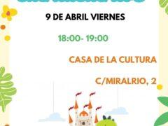 Valdetorres de Jarama celebra la Muestra del Libro Infantil y Juvenil con un cuentacuentos