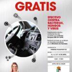 El Ayuntamiento de El Casar colabora en el tratamiento de desinfección de vehículos gratuita