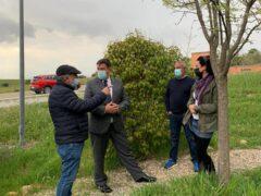 El director General de Administración Local de la Comunidad de Madrid visita Valdepiélagos