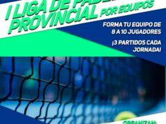 Uceda y Sport Madness organizan la «I Liga de Pádel Provincial por equipos»