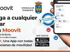 El Ayuntamiento de Uceda ofrece a sus vecinos la App Moovit para la ruta del microbús de Caraquiz