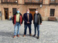 El director General de Agricultura visita Valdetorres de Jarama y se compromete al arreglo de caminos